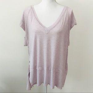 FREE PEOPLE High Low Shirt size medium